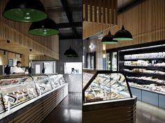 Чудесный дизайн продуктового магазина и кафе Cannings Free Range Butcher в Австралии