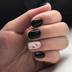 What Christmas manicure to choose for a festive mood - My Nails Classy Nail Designs, Winter Nail Designs, Nail Polish Designs, Nail Art Designs, Simple Gel Nails, Classy Nails, Gel Nagel Design, Manicure Y Pedicure, Nagel Gel