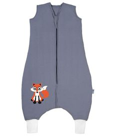 Little boys and girls will love our Slumbersac Sleeping Bag with Feet featuring a super-cute fox! Sacchi, Grey Fox, Sleeping Bags, Prams, Rompers, Summer, Fashion, Fox Pattern, Daughters