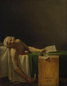 Jacques-Louis David - Death of Marat (favourite)