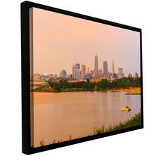 'Cleveland 19' by Cody York Framed Photographic Print on Wrapped Canvas