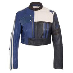 Need this #ACNE 'Stars' embellished leather jacket