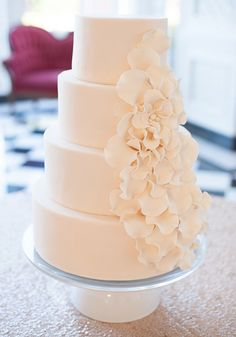 Editor's Pick: Wedding Cakes with Creative New Designs. To see more: http://www.modwedding.com/2014/09/07/editors-pick-wedding-cakes-creative-new-designs/ #wedding #weddings #wedding_cake Featured Photographer: Meg Perotti Photography