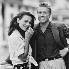 "Lena Olin y Robert Redford en ""Habana"", 1990"
