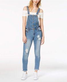 54 Ideas De Pantalon De Pechera Ropa Overol De Mezclilla Moda