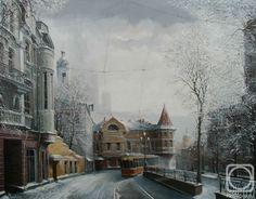 Стародубов Александр. Яузские ворота зимой