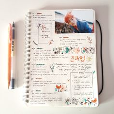 """estheticbee: """" 05.07.16// Last week's bullet journal spread  Hardest part about bullet journaling is deciding on what colour scheme. I decided to put 100 days of productivity on hold until the school year starts. Sorry for the lack of photos..."""