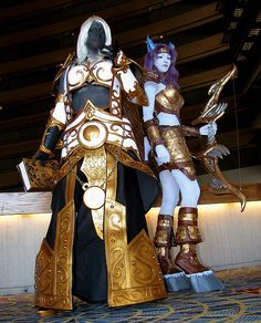 Image result for world of warcraft cosplay light up