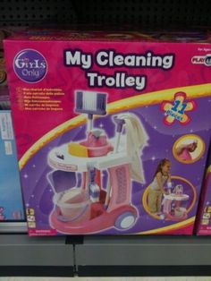 GENDERED MARKETING OF CLEANING AND COOKING TOYS