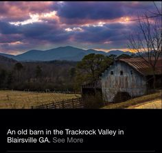 Blairsville GA.  I lived in this town and rode horses in this area often.