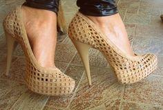i don't even wear heels but, DAMN!