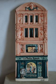 Hazle Ceramics A Nation of Shopkeepers La Belle Epoch Ed 9 150 Boxed | eBay