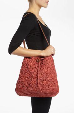 Straw Studios Crochet Tote $48.00