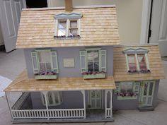 La Grande Maison-The Greenleaf Garfield Dollhouse: Greenleaf Corona Concept's Laurel/Primrose Dollhouse: A Vermont Vacation Home for Vera-My Newest Dollhouse