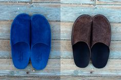 Made from a single piece of leather, the luxurious Leather Slippers from CP Slippers are hand made in Spain. With time, these slippers will conform to the shape of your feet, making them even more personal and comfortable.