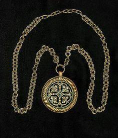 Vintage Crusade Era Bronze Necklace from 50s Kalevala Koru Finland | eBay