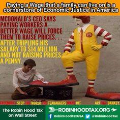 Raise the minimum wage!.