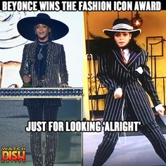 Beyonce was giving Janet Jackson vibes at the CFDA Awards last night.