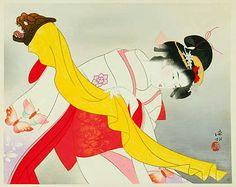 版画ギャラリー。 。 。 鳥居ギャラリー:伊藤Shinsuiにより歌舞伎舞踊