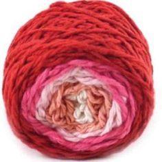 Soft, colorful, organic yarn