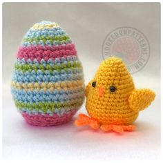 Ravelry: Easter Egg Flips Bunny & Chick by Ling Ryan