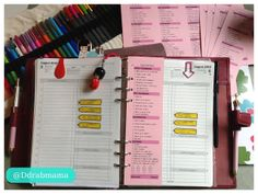 Paper Dragonfly Mom: DAILY ROUTINE FREE PRINTABLE INSERTS