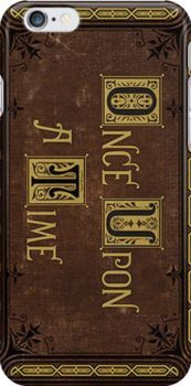 Henry's Book Phone Case- Once Upon a Time by Dominique Demetz