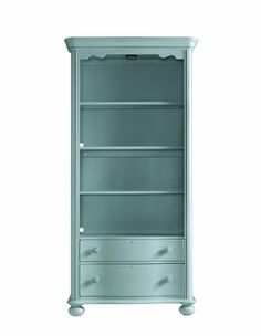 Nice color for bookcase...Coastal Living Bookcase