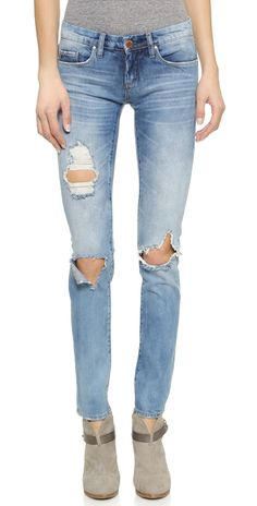 Blank Denim Distressed Skinny Jeans | SHOPBOP SAVE UP TO 25% Use Code: BIGEVENT16