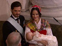 Christening of Prince Carl Philip and Princess Sofia's second son Gabriel, Dec. 1, 2017