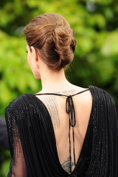 Now For Some Spring/Summer Updo Hair Inspiration, Courtesy of Angelina Jolie