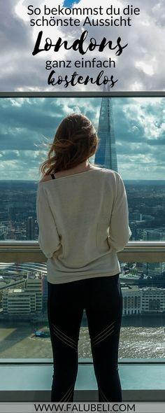 Ich zeige dir wie du die schönste Aussicht von ganz London einfach kostenlos bekommst. Ein atemberaubender Ausblick, perfekt für die nächste Städtereise. Einer der besten Reise Tipps für London jetzt auf WWW.FALUBELI.COM