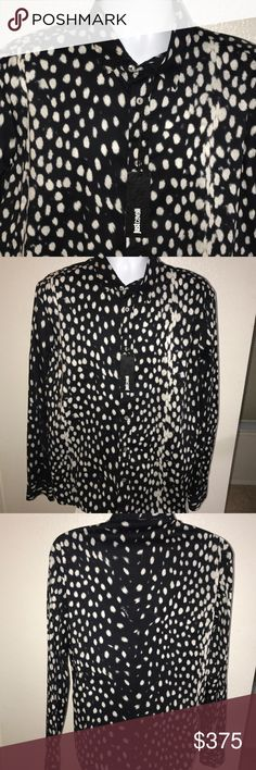 Men's shirt Men's designer shirt with tags in excellent condition . Just Cavalli Shirts Dress Shirts