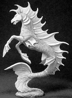 Escultura d un hipocampo
