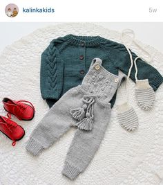 Kalinka kids Baby Boy Knitting, Knitting For Kids, Eco Clothing, Knitted Romper, Baby Sweaters, Baby Girl Fashion, Baby Boy Outfits, Baby Dress, Doll Clothes