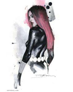 Artist of the Week: Jeff Dekal Natasha Romanova, the Black Widow Heros Comics, Marvel Comics Art, Marvel Heroes, Marvel Characters, Marvel Avengers, Comic Book Artists, Comic Artist, Comic Books Art, Marvel Girls