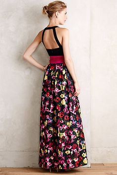 French Fields Gown #anthrofave #anthropologie