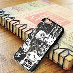 5 Second Of Summer Collage Black And White iPhone 6|iPhone 6S Case