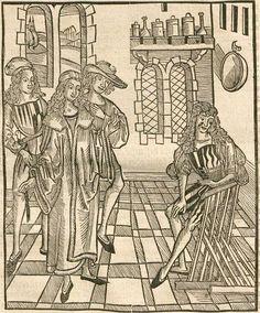 Brunschwig, Hieronymus: Dis ist das Buch der Cirurgia, Hantwirckung der Wund Artzney Augspurg, 1497 Ink B-931 - GW 5594  Folio 39