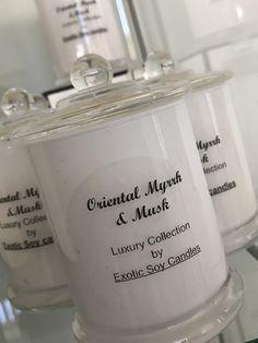 Medium Oriental Myrrh & Musk