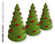 Ravelry: Christmas tree with balls pattern by Hylkje Bies