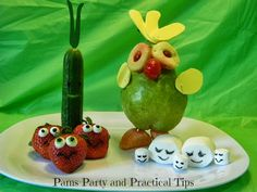 Cloudy with a Chance of Meatballs 2 Party Foodimals #partyideas