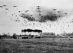 is the Prince who can afford so to cover his country with troops for its defense, as that men descending from the clouds, migh. Operation Market Garden, Paratrooper, World War Ii, Troops, Military, Clouds, Country, Ww2, Balcony