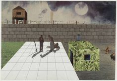 OMA / KOOLHAAS, Rem, ZENGHELIS, Elia & ZENGHELIS, Zoé, 1972 : Exodus ou les prisonniers volontaires de l'architecture.