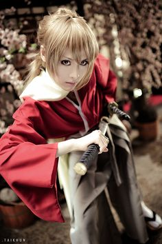 TEI(帝) Sougo Okita Cosplay Photo - WorldCosplay