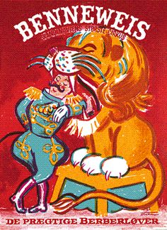 Circus Poster, Color Schemes, Spiderman, Superhero, Illustration, Posters, Prints, Danish, Fictional Characters