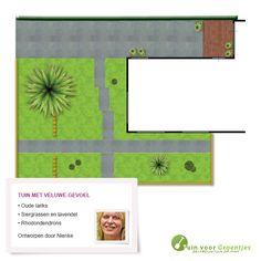 Tuin met Veluwe-gevoel, getekend door onze tuinontwerper Nienke Plantinga.
