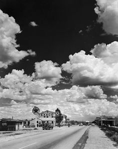 Andreas Feininger. The Road Goes Ever On: Route 66 and the American Dream | LIFE.com