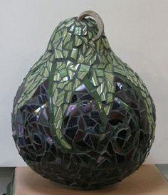 Eggplant gourd- Fine art by Daybreak Mosaics