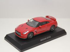 KYOSHO NISSAN SKYLINE & GT-R NEO COLLECTION GT-R R35 RED 1/64 JAPAN #Kyosho #Nissan